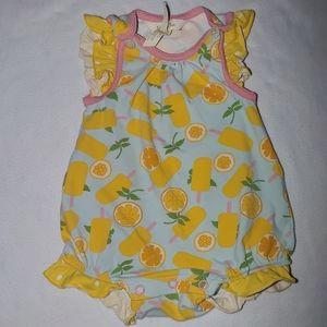 Matilda Jane Pink Lemon Popsicle Romper